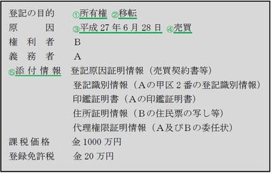 140908不動産登記法・申請書1
