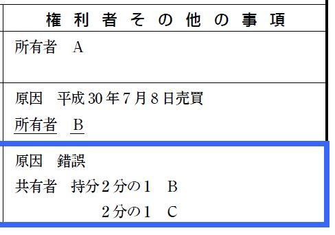 不動産登記(記述)において「更正後の事項」「変更後の事項」は書くのが正解か?