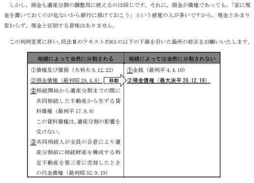 161222『Realistic Text 民法Ⅱ』判例変更2
